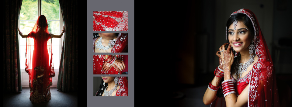 Hindu Wedding Album Design By Gingerlime Design
