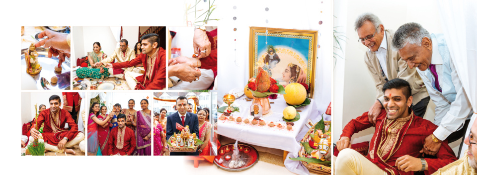 Asmita Nilesh Wedding Album Spreads By Gingerlime Design 1