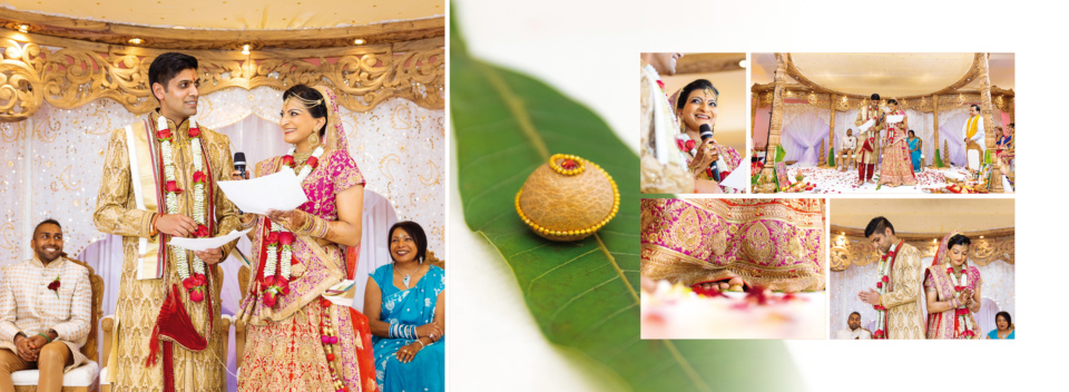 Asmita Nilesh Wedding Album Spreads By Gingerlime Design 8