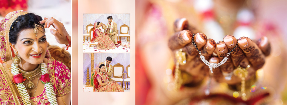 Asmita Nilesh Wedding Album Spreads By Gingerlime Design 9
