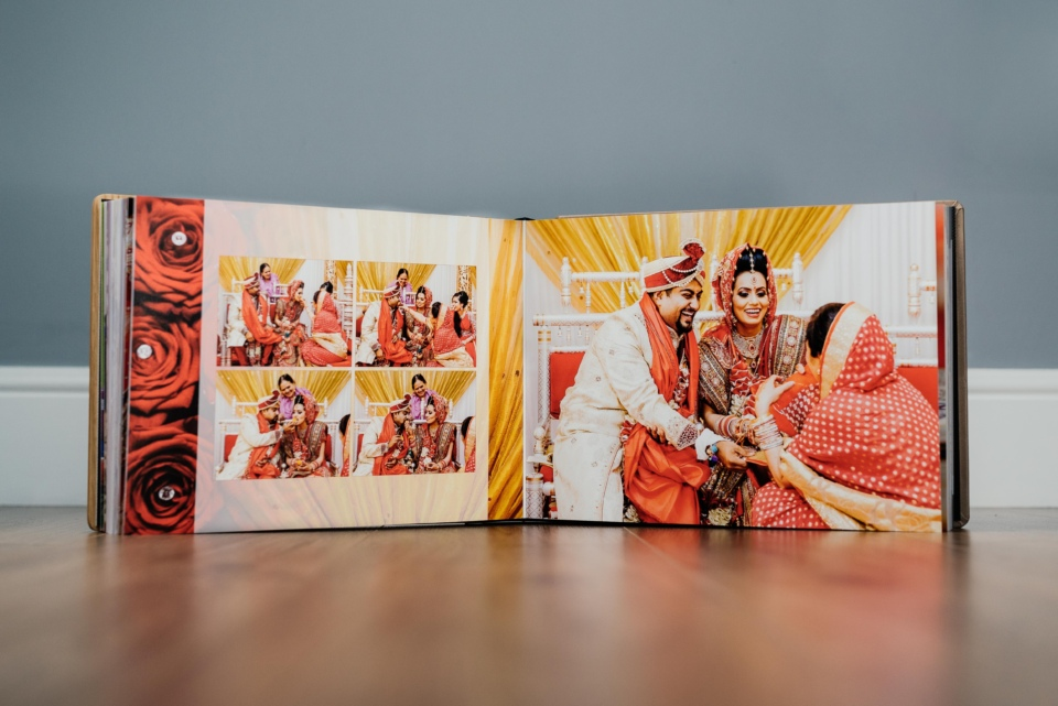 Hindu Wedding Album Designer - Gingerlime Design