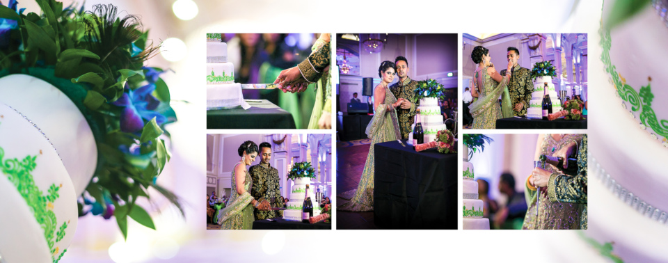 Naresh Anjili Hindu Wedding Album by Gingerlime Design