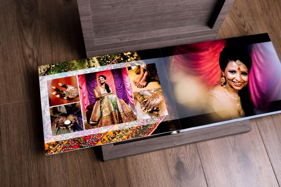 Hindu Wedding Album Design by Gingerlime Design