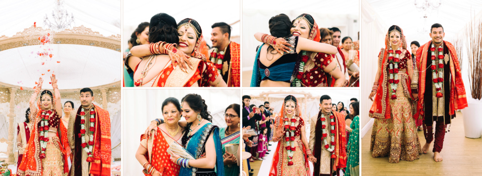 Ravi Bhavna Hindu Wedding Album Design by Gingerlime Design