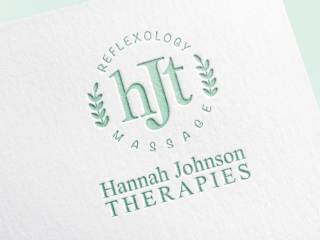 Branding Hannah Johnson Therapies Gingerlime Design